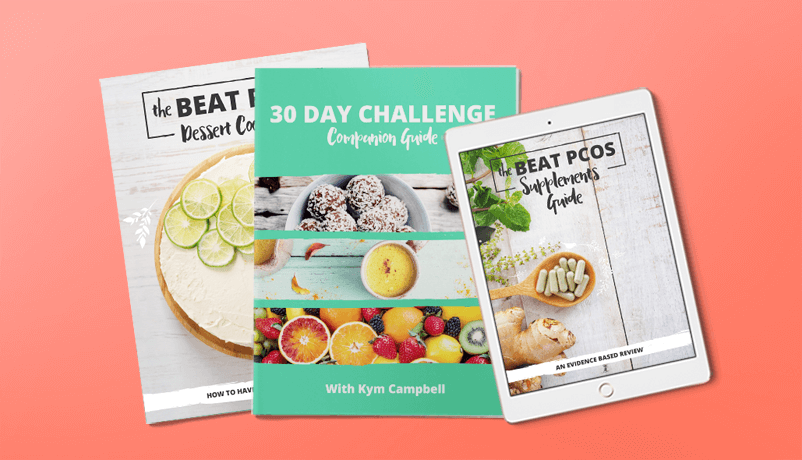 The Beat PCOS Ebook Bundle - Beat PCOS with Kym Campbell
